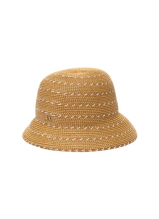 Figure View - Click To Enlarge - ERIC JAVITS - 'Kimi' woven Squishee® bucket hat