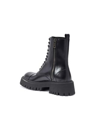 - BALENCIAGA - 'Strike' leather military boots