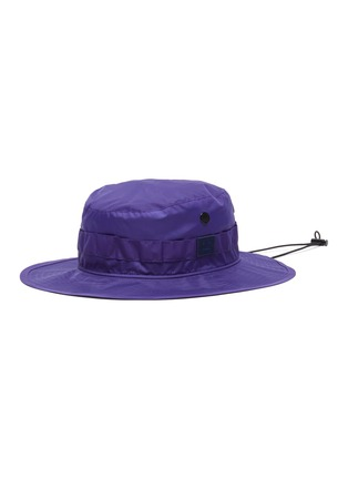 Main View - Click To Enlarge - ACNE STUDIOS - Face patch bucket hat