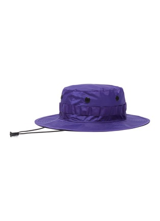 Figure View - Click To Enlarge - ACNE STUDIOS - Face patch bucket hat