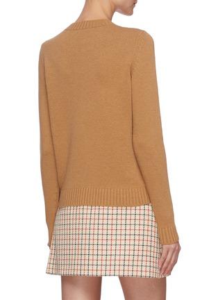 Back View - Click To Enlarge - MIU MIU - Eyeore Donkey intarsia sweater