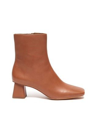 Main View - Click To Enlarge - VINCE - 'Koren' leather ankle boots