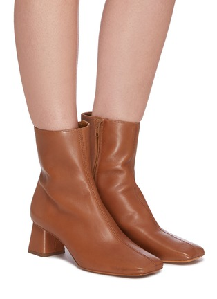 Figure View - Click To Enlarge - VINCE - 'Koren' leather ankle boots