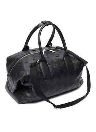 Detail View - Click To Enlarge - BOTTEGA VENETA - Intrecciato leather weekender bag