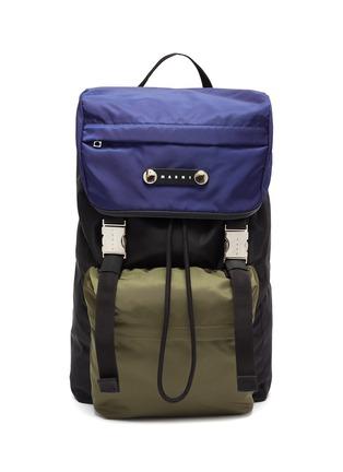 Main View - Click To Enlarge - MARNI - 'Hackney' nylon backpack
