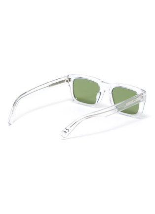 Figure View - Click To Enlarge - SUPER - Augusto Crystal square acetate frame sunglasses