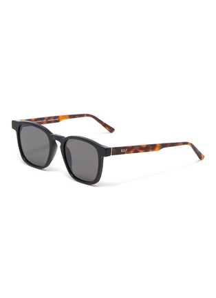 Main View - Click To Enlarge - SUPER - Unico tortoiseshell effect temple sunglasses