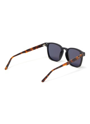 Figure View - Click To Enlarge - SUPER - Unico tortoiseshell effect temple sunglasses