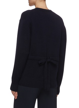 Back View - Click To Enlarge - CHLOÉ - Cashmere knit cardigan