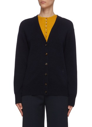 Main View - Click To Enlarge - CHLOÉ - Cashmere knit cardigan