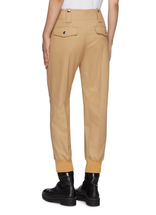 Back View - Click To Enlarge - CHLOÉ - Virgin wool blend cargo pants