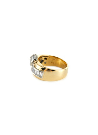 Figure View - Click To Enlarge - LANE CRAWFORD VINTAGE JEWELLERY - Diamond 18k gold ring