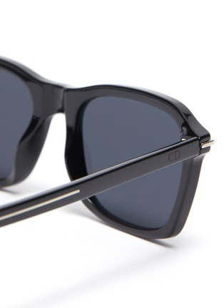 Detail View - Click To Enlarge - DIOR - Blacktie273/S square acetate frame sunglasses