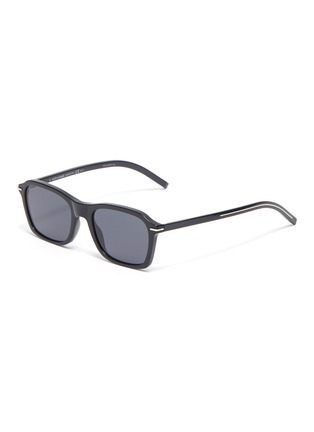 Main View - Click To Enlarge - DIOR - Blacktie273/S square acetate frame sunglasses
