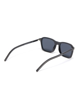 Figure View - Click To Enlarge - DIOR - Blacktie273/S square acetate frame sunglasses