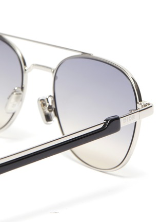 Detail View - Click To Enlarge - DIOR - Diorstreet2 metal frame aviator sunglasses