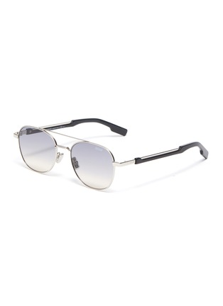 Main View - Click To Enlarge - DIOR - Diorstreet2 metal frame aviator sunglasses