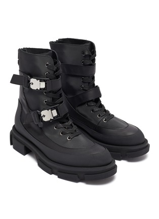 Detail View - Click To Enlarge - BOTH - 'Gao' harness military boots