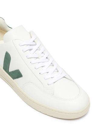 Detail View - Click To Enlarge - VEJA - 'V-12' vegan leather sneakers
