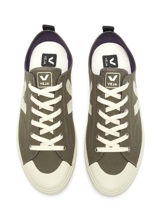 Figure View - Click To Enlarge - VEJA - 'Nova' canvas lace up sneakers