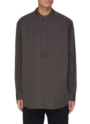 Main View - Click To Enlarge - ERMENEGILDO ZEGNA X FEAR OF GOD - Henley shirt