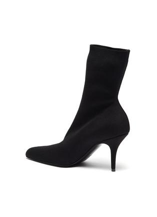 - BALENCIAGA - Sock Heel Ankle Boots