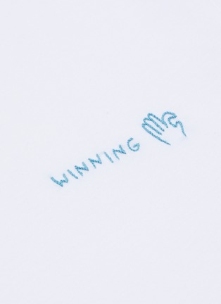 - YEAH RIGHT NYC - Winning + Ok Hand embroidered patch T-shirt