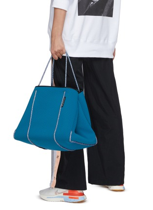 Figure View - Click To Enlarge - STATE OF ESCAPE - Escape sailing rope neoprene tote