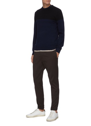 Figure View - Click To Enlarge - THEORY - 'Hilles' cashmere sweater