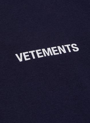 - VETEMENTS - Logo print T-shirt