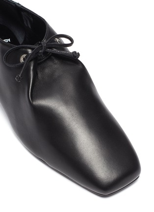 Detail View - Click To Enlarge - PIERRE HARDY - 'Satellite' lambskin leather loafers