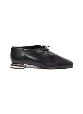 Main View - Click To Enlarge - PIERRE HARDY - 'Satellite' lambskin leather loafers