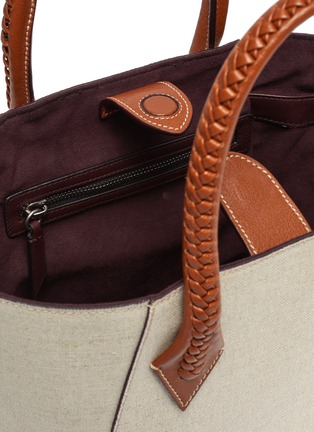 Detail View - Click To Enlarge - MÉTIER - 'Perriand' medium leather tote bag