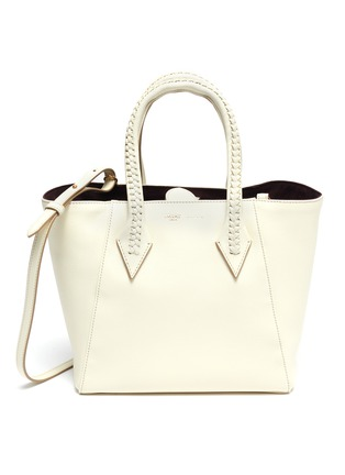 Main View - Click To Enlarge - MÉTIER - 'Perriand' medium leather tote bag