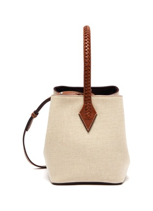 Main View - Click To Enlarge - MÉTIER - 'Perriand' mini linen tote