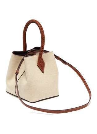 Figure View - Click To Enlarge - MÉTIER - 'Perriand' mini linen tote