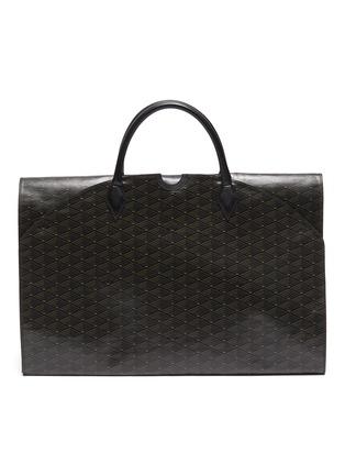 Main View - Click To Enlarge - MÉTIER - Closer' Leather garment bag