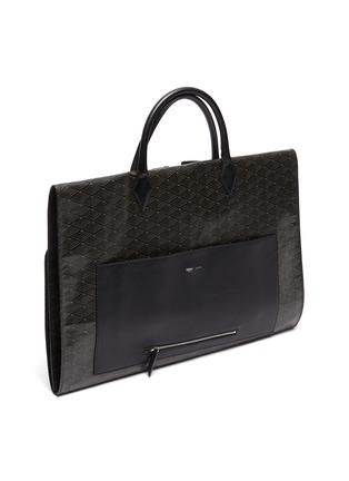 Figure View - Click To Enlarge - MÉTIER - Closer' Leather garment bag