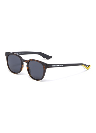 Main View - Click To Enlarge - DIOR - DiorB24.2 tortoiseshell effect acetate frame sunglasses