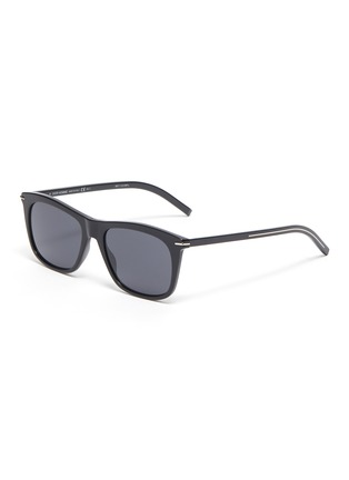 Main View - Click To Enlarge - DIOR - BlackTie268S angular acetate frame sunglasses