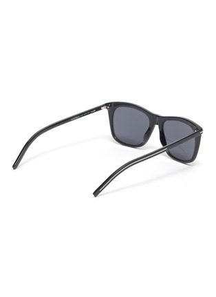 Figure View - Click To Enlarge - DIOR - BlackTie268S angular acetate frame sunglasses