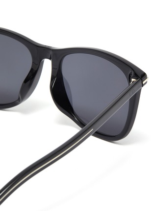 Detail View - Click To Enlarge - DIOR - BlackTie268FS square acetate frame sunglasses