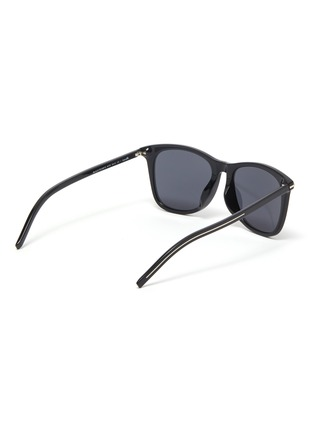 Figure View - Click To Enlarge - DIOR - BlackTie268FS square acetate frame sunglasses