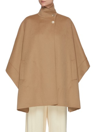 Main View - Click To Enlarge - EQUIL - Stand Collar Cashmere Cape