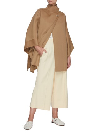 Figure View - Click To Enlarge - EQUIL - Stand Collar Cashmere Cape