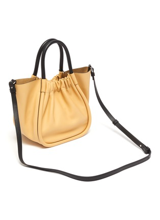 Detail View - Click To Enlarge - PROENZA SCHOULER - Ruched small leather tote