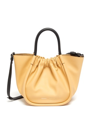 Main View - Click To Enlarge - PROENZA SCHOULER - Ruched small leather tote