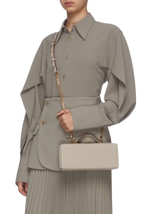 Figure View - Click To Enlarge - MARK CROSS - Grace Lungo leather box bag