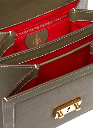 Detail View - Click To Enlarge - MARK CROSS - 'Uptown' leather crossbody box bag
