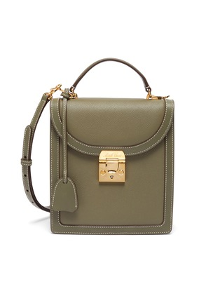 Main View - Click To Enlarge - MARK CROSS - 'Uptown' leather crossbody box bag